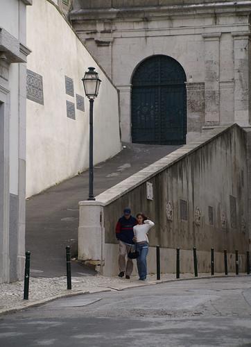 Lisboa - Largo de São Vicente