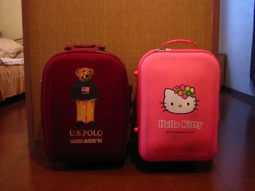 一隻熊與一隻貓遊Okinawa