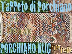 Porchiano Rug (Luciano Ghersi) Tags: carpet rug handloom handweaving tappeto telaio tessitura porchiano lucianoghersi