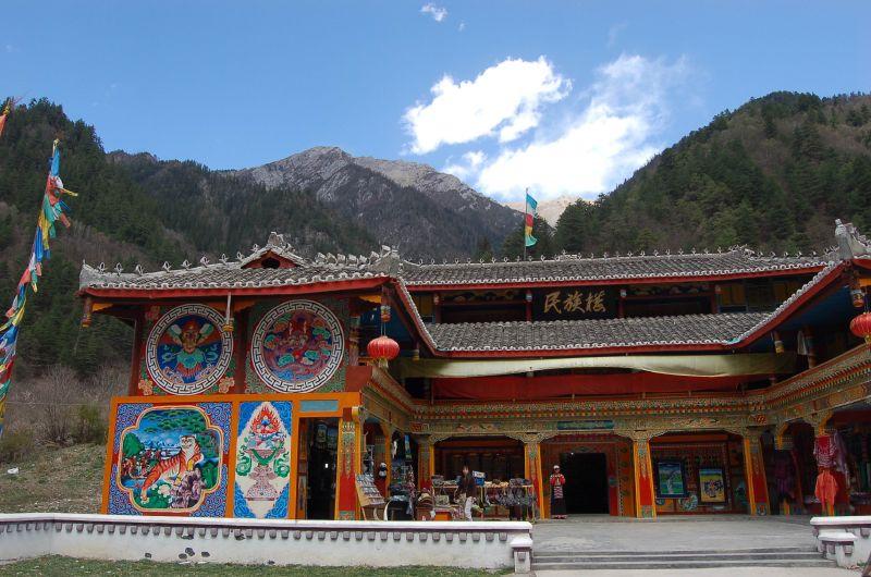 Zechawazai Village, Jiuzhaigou, Sichuan, China