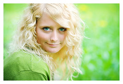 (~LeahP~) Tags: green senior girl field grass yellow rural eyes country coffeeshop explore canon5d 85mm18 anawesomeshot