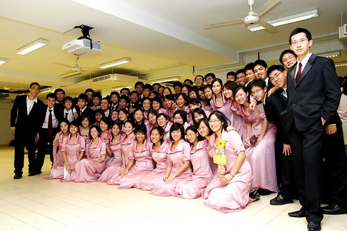 Hwa Chong Choir - after Arts Fest concert