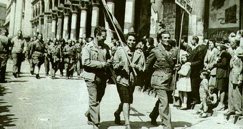 Partisans in Milan