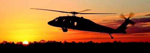 Helicóptero Guardia Nacional