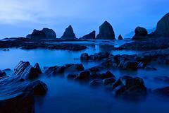 More Ocean Blues (KPieper) Tags: longexposure nature oregon landscape twilight searchthebest oceanside pacificnorthwest pnw kevinpieper kpieper kpieperphotography pieperphotographynet