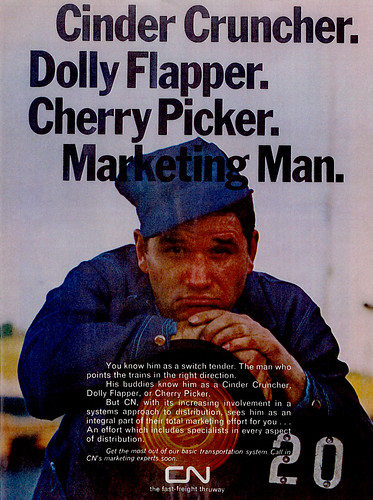 Vintage Ad #239: Dolly Flapper...Marketing Man