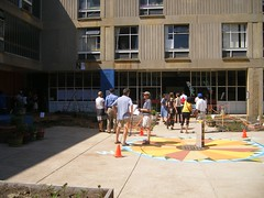Library's Overlook (meliroo) Tags: school cambridge garden education celebration k8 urbanschool kingamigos citysprouts