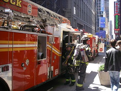 FDNY - Pride of Midtown #4 Heading into action (Al_HikesAZ) Tags: new york city nyc vacation ny newyork truck fire manhattan 4 pride firetruck midtown explore heroes fdny department firedepartment firefighters literaryreference i500 prideofmidtown azwexplore nyc2007 alhikesaz