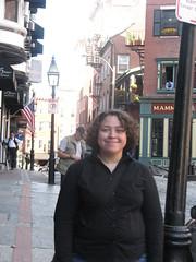Noor (dorkyspice) Tags: me boston northend noor