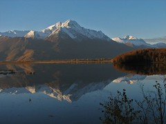 october morn at Jim Lake (BarbieW) Tags: autumn mountain lake fall nature alaska reflections october butte palmer serene matsu knik pioneerpeak jimlake splendiferous supershot chugachrange diamondclassphotographer flickrdiamond dazzlingshots barbiesesbats esbatsgallery