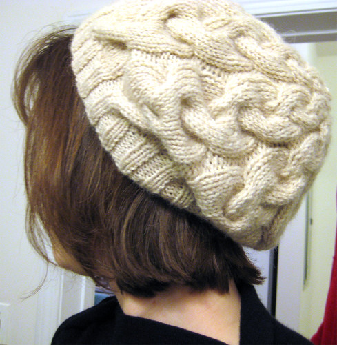 Debbie Bliss Cabled Beret