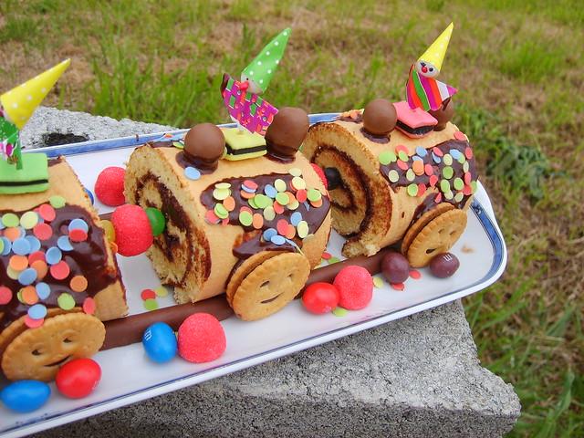 Gâteau Train!