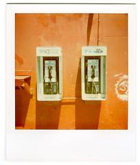 polaroid. venice beach, ca. 2006. (eyetwist) Tags: california venice red analog polaroid la losangeles los phone angeles phonebooth 2006 ishootfilm impulseaf payphone pacificocean socal 600 instant venicebeach redwall pola polaroid600 90291 instantfilm angeleno 779 eyetwist zip90291 ishootpolaroid savepolaroid contactforstockusage thisimagemaybeavailableforlicensecontactformoreinfo savepolaroidcom longliveanalog wstla