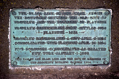 Brooklyn-Flatbush Boundary Marker