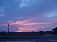sky1 of Sept 2004 (redagainPatti) Tags: mississippi sunsetsunrise skyandlight redagain