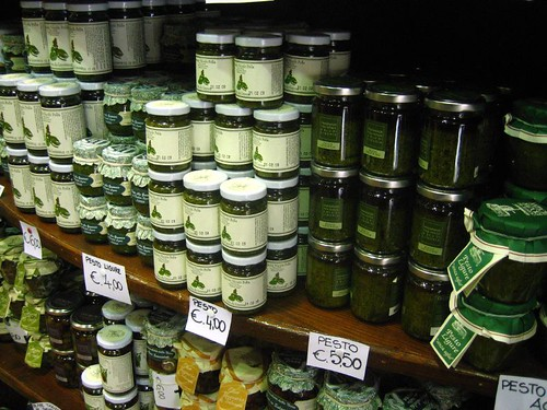 Pesto for sale in Monterosso