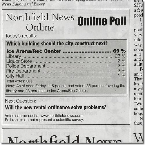 NN Poll Clipping