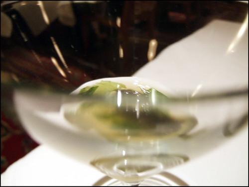 Manresa (Los Gatos) - Caviar consomme / Seaweed Brioche