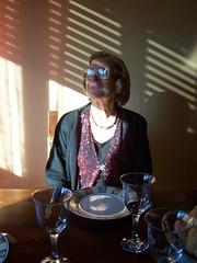 MY NAME IS CARLA (corcolombo) Tags: portrait woman lady scarlet ombra intimacy tristezza elegante solitudine tapparella vecchiaia impressionista lam terzaet iperealista