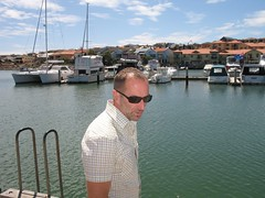 Deane looking pensive (cliftonhillboys) Tags: david nw australia perth deane bigd mindari