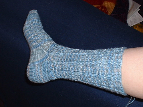 Proof of a finished sock