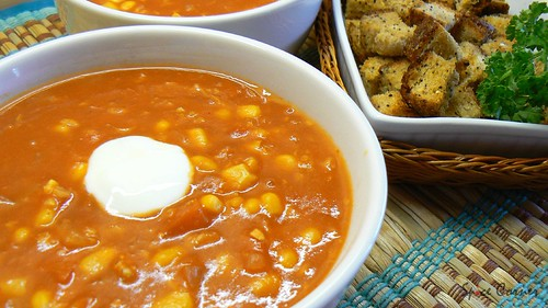 sweetcorn n tomato soup4