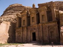 Petra. Jordan (jpmiss) Tags: old travel vacation architecture temple ancient ruins petra middleeast olympus arabic jordan arab e300 jordanie nabatean  jpmiss