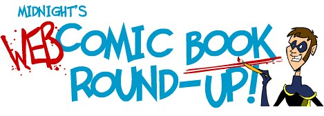 Title for Midnight's Web Comic Book Round-Up
