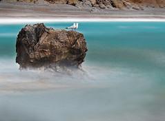 Faceless (stuttgart_san) Tags: longexposure blue canon eos 350d waves blurred mve long