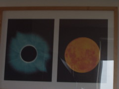 This is a picture up on the wall (laserquest) Tags: sun space picture