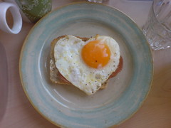 Breakfast Love (julia_ho) Tags: love breakfast heart egg explore herz frhstck spiegelei