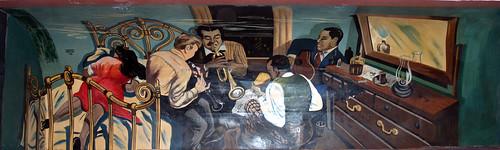 JAZZ - Minton's Playhouse Mural, Harlem por Professor Bop.