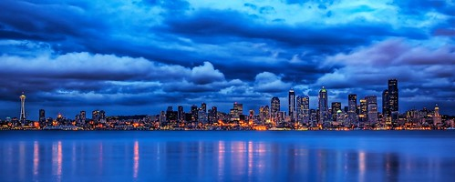 Seattle Blues by Craig Allen Photography © All rights reserved