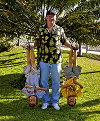 Babysitting The Comedy Twins (Bill Adams) Tags: me hawaii explore bigisland micah conner waikoloa myyard billadams comedytwins canonef1635mmf28lusm abigfave