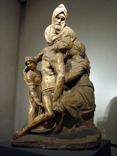 Michelangelo, Pieta - it was supposed to go on his tomb