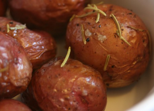 Rosemary And Celtic Sea Salt Roasted Baby Red Potatoes