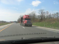 Funny sight on the highway
