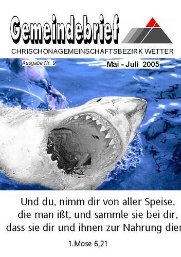 Gemeindebrief-Titeblatt - Scherz