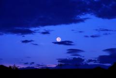 Moon out the front (Earlette) Tags: blue moon nikon australia nsw oldbar d80 anawesomeshot oldbaraustralianswnikond80
