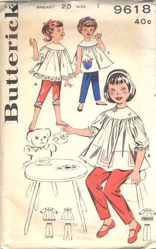 Girl's Smock Pattern