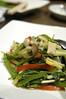 空心菜と新鮮きのこの塩炒め, 天府, 秋葉原