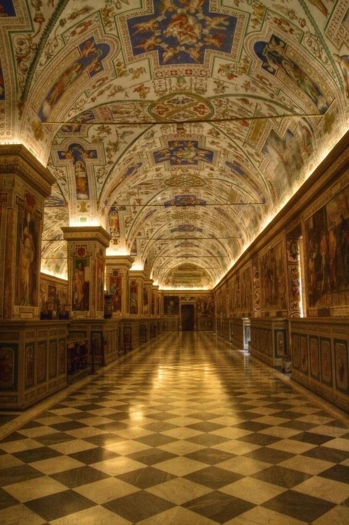 Inside Vatican Museum 2