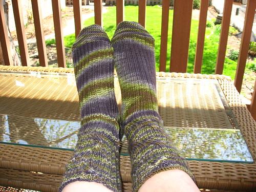 STR Inside-Out Socks