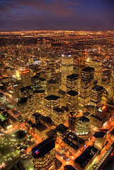 Toronto At Night (mischiru) Tags: city urban toronto architecture night cityscape cntower clear hdr blueribbonwinner lovephotography abigfave anawesomeshot youvsthebest diamondclassphotographer ysplix cpftppcity searchandreward ultimateskyscrapershots thepinnaclehof