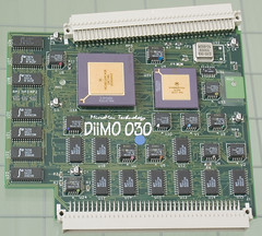 DiiMO 68030 CPU Card Front View (jd_wages) Tags: apple macintosh mac card slot upgrade accelerator pds se30 passthrough passthru 50mhz micromac diimo