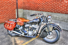 Indian Motorcycle HDR (alan57) Tags: photoshop motorcycles hdr photomatix alan57
