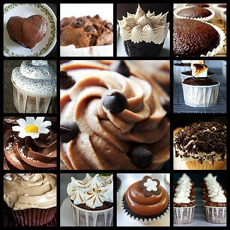 Chocolate Cupcake Mosaic