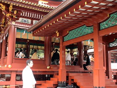 Wedding Ceremony at Tsurugaoka Shrine (ranicas) Tags: japan kamakura  2007