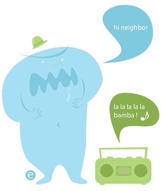 Illustration Friday - Neighbor