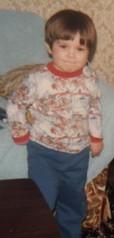 posing (daniboi1977) Tags: me kid 1980s holbrook